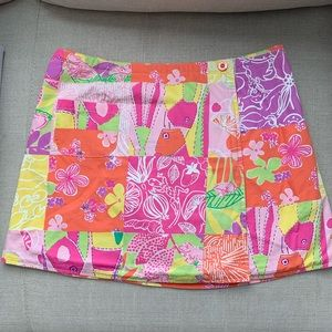 💗🧡 REVERSIBLE LILLY PULITZER WRAP-SKIRT 🧡💗
